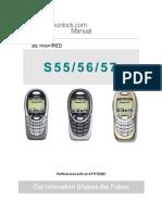 Siemens s55 Manual