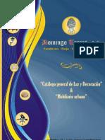 Catálogo Luz y Decoración (2ª Parte) de Domingo Torres S.L.