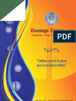 Catálogo piezas de Hierro Fundido de Domingo Torres, S.L.