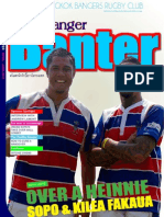 Banger Banter Newsletter 2nd Quarter 2011