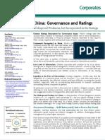 China Governance and Ratings