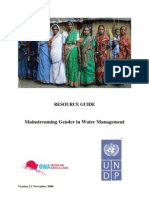 Gender and IWRM Resource Guide Complete 200610