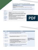 Recruitment Process Interview Questionnaire