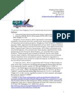 AFA Response SmalFootedBat USFWS 2011 R