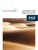Actix Radioplan ACP Guide 3 13