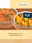Microwave Recipe - Prestige