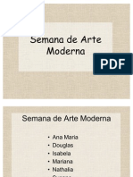 Semana Arte Moderna
