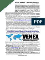 ORGANIZATE Y VOTA EN PRIMARIAS Y PRESIDENCIALES 2012