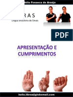 Apresentação e Cunprimentos em LIBRAS