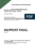 Le programme national de lutte contre le SIDA et le second projet multisectoriel pour la prévention du SIDA - PMPS II (ITEM - 2011)