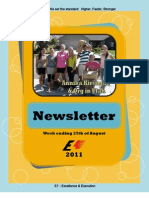 Newsletter Week 11 2011