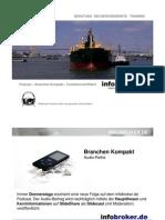 Reedereien und Containerschifffahrt in schwerer See - Branchen Kompakt
