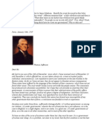 Essay Exam 1 - Jefferson Letter to Madison