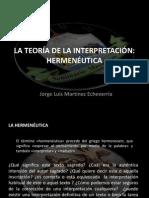 La teoría de la interpretación