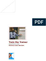Train the Trainer with Wali Zahid Workbook
