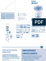 Instrucciones Esterilizador Philips Iq24