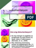 6. Dokumentasyon