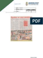 Informde de prensa del 11 al 19 de agosto de 2011