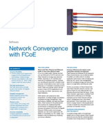 Network Convergence With FCoE