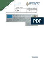 Informe de prensa del 19 al 26 de agosto de 2011