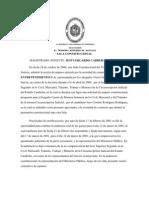 Facultades Probatorias Del Juez en Sede Constitucional (Amparo)
