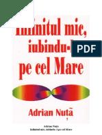 Adrian-Nuţă-Infinitul mic iubindu-l pe cel Mare