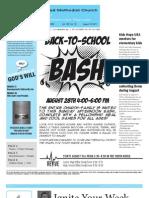 Newsletter - August19th