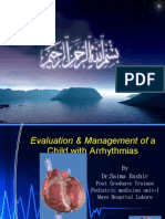 Evaluation Management of Child With Arrhythmias - Dr. Saima Bashir