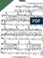 [Sheet Music - Piano Score] Pink Floyd _-_ Echoes