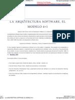 Arquitectura 4+1 Vistas
