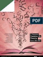 """Bases del V Concurso """"Cuentos de Ciencia"""" (Curso 2011-2012)"""