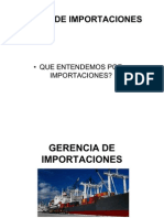 GERENCIA DE IMPORTACIONES