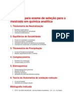 analitica - ufmg