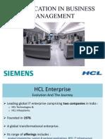 Hcl & Siemens - Final