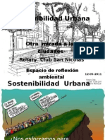 Pres. Sustentabilidad Urbana-Rotary