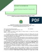 legislação do frango caipira oficio circular