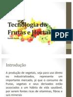 Tecnologia de Frutas e Hortaliças