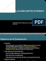 Metro Ethernet t Dm