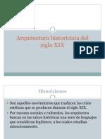 Arquitectura Historicista Del Siglo XIX
