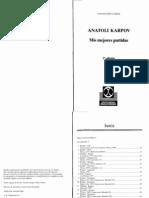 Anatoly Karpov - Mis Mejores Partidas (2nd Edition, Spanish)