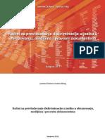 Načini za prevladavanje diskriminacije u jeziku u obrazovanju, medijima i pravnim dokumentima