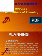 Module 3 Planning