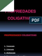 Prop. Coligativas
