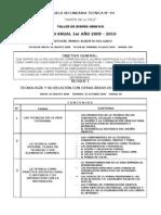 PLAN ANUAL 1° 2009-2010