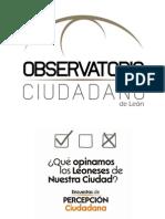 Encuestas de Percepción Ciudadana - Observatorio Ciudadano de León