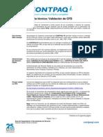 Validacion de CFD XML