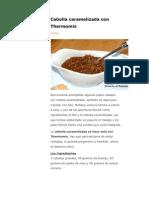 cebolla caramelizada thermomix