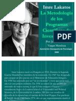 Metodologia Investigacion Imre Lakatos