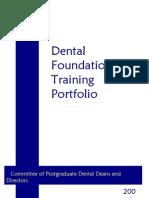 Dental Foundation Programme Year 2