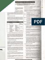 Lineamientos Generales de Evaluación Graduandos 2011